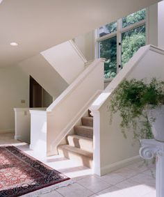 images about stairway on Pinterest Half walls