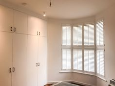 New home? The Shutter Studio is able to team up with our carpentry division to transform your home with bespoke window coverings and storage solutions, we also offer finance so you are able to spread the cost out! Bedroom Shutters, Wooden Shutters, Interior Design London, Window Coverings, Carpentry, Storage Solutions, Division, Bespoke