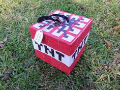 MINECRAFT TNT PINATA by MaricelaPinatas on Etsy