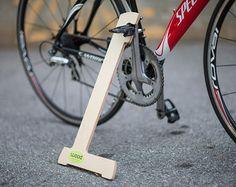 Support vélo bois