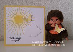 SU Think Happy, SU Kinda Eclectic ---> Klaartje's kaartjes en meer...