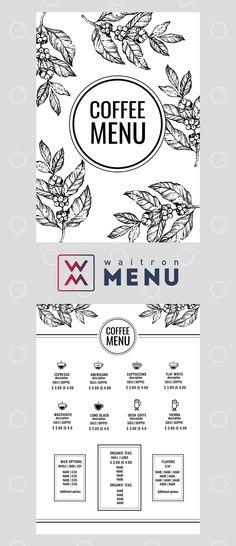 Menu design | Дизайн меню