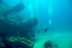 channel islands de californie | Wreck