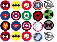 Avengers printables - visit to grab an amazing super hero shirt now on sale Comic Book Parties, Avenger Cupcakes, Super Hero Shirts, Avengers Birthday, Avengers Wallpaper, Superhero Party, Superhero Logos, Art Wall Kids, Amazing