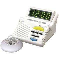 Sonic Alert Sonic Boom Combination Alarm Clock With Super Shaker