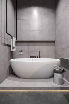 Bathroom Design - La Petite - Master Bathroom Design – La Petite -Master Bathroom Design - La Petite - Master Bathroom Design – La Petite - 38 incredible small bathroom remodel ideas you must try 26 Contemporary Bathrooms, Modern Bathroom, Small Bathroom, Master Bathroom, Remodled Bathrooms, Colorful Bathroom, Dyi Bathroom, Bathroom Trends, Industrial Bedroom