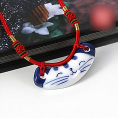 Women's Paint Manikin Pendant Necklace – USD $ 13.99