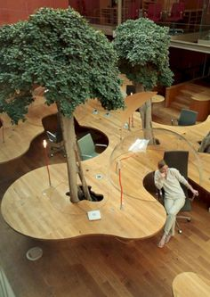 Natural Office Design with Principle of the Hemisphere – Architects Pons Huot Paris Office with&; Natural Office Design with Principle of the Hemisphere – Architects Pons Huot Paris Office with&; Wolfgang Gauss wgauss nice […] decoration for home creative Office Space Design, Modern Office Design, Workplace Design, Office Interior Design, Office Interiors, Office Designs, Office Table Design, Library Design, Interior Modern