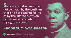 Booker T. Washington was a prominent African American leader at the turn of the 20th century and is well known as an …