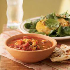 Moroccan Chickpea Chili | MyRecipes.com