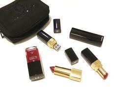 Chanel USB Lipstick Flash Drive DIY