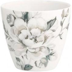Kubek do kawy Maria warm grey od Green Gate Warm Grey, Grey And White, Black, Latte Cups, French Pattern, Danish Design, Modern Rustic, Ceramic Pottery, French Antiques