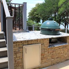 big green egg built in - Google Search