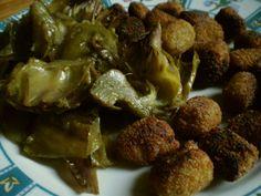 Polpette vegetali con carciofi
