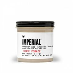 THE MOTLEY :: Imperial Barber Products Fiber Pomade - PUTTIES, POMADES, AND GELS - HAIR :: SUPERIOR GROOMING FOR MEN