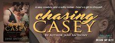 The Reading Spot Blog: Chasing Casey (Release) with Jane Anthony