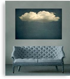 Cloud Art Canvas Print