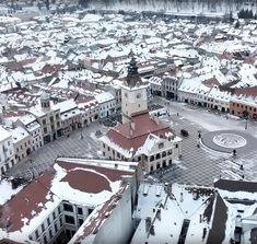 Black / White - Brasov in Winter. Black And White, Winter, Travel, Black White, Trips, Black N White, Viajes, Traveling, Winter Fits