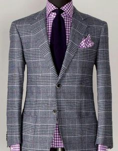 Purple mixed pattern