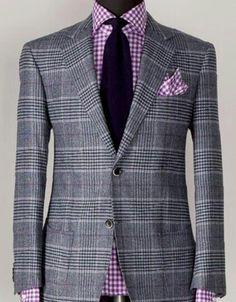 Purple mixed pattern