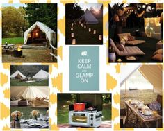 glamping. This I could handle.