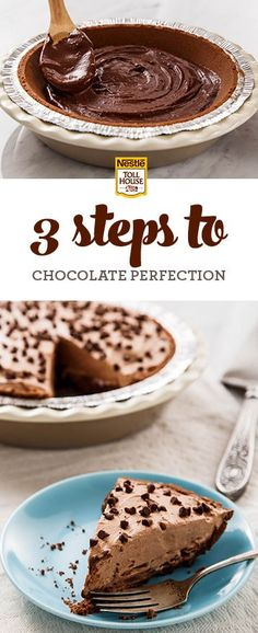 Chocoholics, meet the summer dessert you need in your life. This frozen chocolate pie with a mocha infusion has three rich layers to satisfy your chocolate cravings. Get the recipe from Nestlé Toll House.