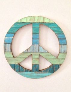 Rustic Cool Peace Sign