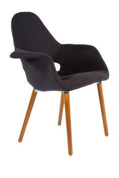 The Organic Black Chair on HauteLook