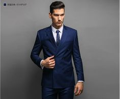 Double-Breasted-Suit-Tailor-Made-Skinny-Stripes-Suits-Bespoke-Men ...