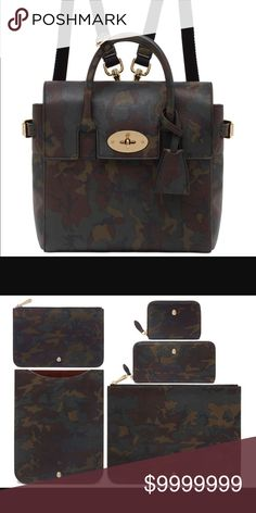 Searching for Cara Mulberry camo collection I'm searching for the camo Mulberry bag! I am dying to own it and have been on the hunt. Good used condition is fine! New or used. If anyone is interested in selling I am a very serious buyer. I'm also interested in the wallet. Price can be discussed! Mulberry Bags