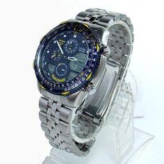 777192392e0 JN0040-58L Relógio Citizen Promaster Navihawk Blue Angels