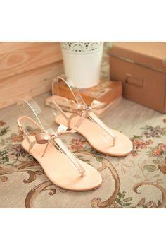Summer Bohemia Women Ladies Flat Heels Buckle Strap Sandals Flip Flops Thong Slipper (Beige) - Intl - Intl | ราคา: ฿833.00 | Brand: Unbranded/Generic | See info: http://www.topsellershoes.com/product/48597/summer-bohemia-women-ladies-flat-heels-buckle-strap-sandals-flip-flops-thong-slipper-beige-intl-intl