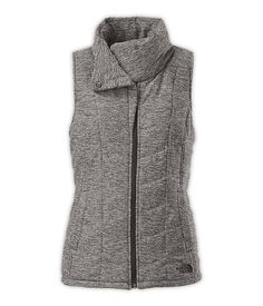 Women's Pseudio Vest - the North Face  I like the tourmaline blue heather color better
