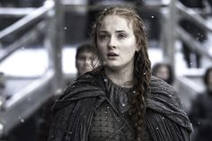 Sansa Stark has changed and how! - Sophie Turner claims Sansa Stark will go dark and evil in the seventh season of Game Of Thrones Game Of Thrones Theories, Game Of Thrones Ending, Game Of Thrones Sansa, Game Of Thrones Books, Game Of Thrones Characters, Fan Theories, Sansa Stark Season 6, Sansa Stark Sophie Turner, Ned Stark