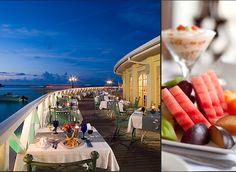 The Restaurants at Sandals Royal Caribbean Resort in Montego Bay, Jamaica