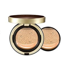 Sulwhasoo Perfecting Cushion Intense SPF50+/PA+++ 15g X2ea (No.21 Medium Pink). Sulwhasoo Perfecting Cushion Intense SPF50+/PA+++ 15g X2ea. One Product 15g + Refill 15g. Contains red pine extreact to replenishes the skin firmly and smoothly for the foundation of healthy, youthful radiance. Contains plum blossom extracts with antioxidants to fortify the skin's protection from external aggressors and leave it clearer and full of life. The Radiance Pearl Powder Complex provides even more...