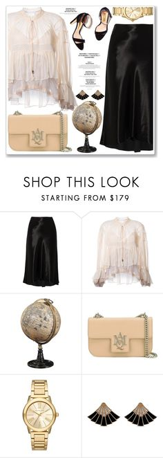"""""""HONG  KONG"""" by ucetmal-1 ❤ liked on Polyvore featuring TIBI, Chloé, Authentic Models, Alexander McQueen and Michael Kors"""