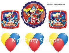 DC Superhero Girls Balloon Set