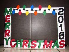 Merry Christmas photobooth frame   (@karlitaskreations)  #ChristmasParty #Photoboothframe #Photobooth