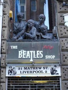 Beatles Shop,  Liverpool ENGLAND.
