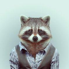 le foto degli animali abbigliati come uomini - I NOSTRI MIGLIORI AMICI