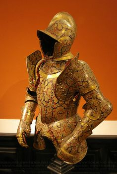"Armor of Duke Nikolaus ""The Black"" Radziwill (1515–1565), Duke of Nieśwież and Olyka, Prince of the Empire, Grand Chancellor and Marshal of Lithuania Kunz Lochner"