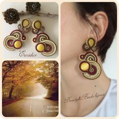 "Buon Venerdí ragazze dal modello ""Euridice"" indossato  orecchini#earrings#soutache#soutacheearrings#beautyandbeadsbijoux#beautyandbeadsbijouxsoutache#beautyandbeadsbijouxsoutacheearrings#fashion#fashionblogger#fashionstyle#design#makeup#youtube#winterfashion#girl#bijoux#jewelry#statement#picoftheday#outfit#ootd#igers#instagood#instadaily#photooftheday#iphoneonly#iphonesia#doriscsengeri#"