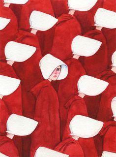 The Handmaids Tale Book Handmaids Tale Quotes, A Handmaids Tale, The Handmaid's Tale Book, Handmade Tale, Maleficarum, Feminist Art, I Wallpaper, Cultura Pop, Book Illustration