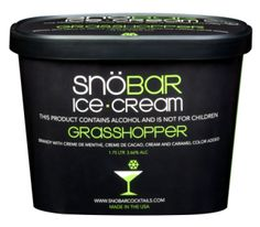 """SnowBaR ice cream:: A line of Alcohol-Infused Ice Cream & Ice-Pops. You had me at """"This product contains alcohol and is not for children."""""""