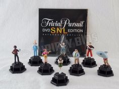 Trivial-Pursuit-SNL-Edition-8-Replacement-Pieces-Pawns-DVD-Saturday-Night-Live