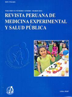 Revista Peruana de Medicina Experimental y Salud Pública. Disponible en la Hemeroteca (Biblioteca Central - Nivel 4A)