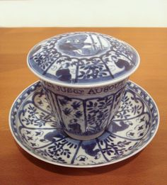 Blue and white export porcelain, Qing Kangxi, (1690-1700).
