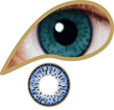 Eden Blue Contacts Lenses