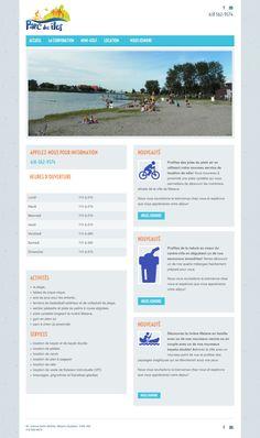 Le Parc des îles de Matane a créé son site Web avec notre solution Mon site Primo